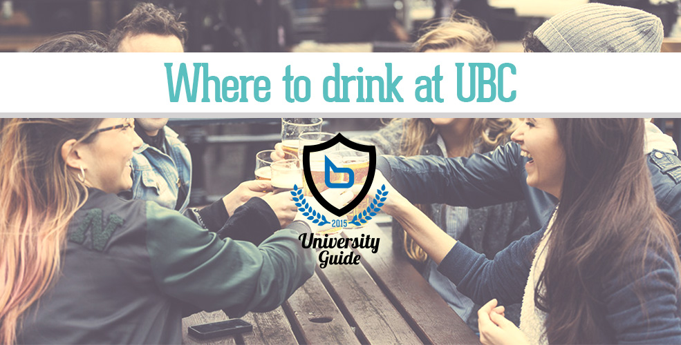 Image: University Drinking via Shutterstock / Vancity Buzz composite