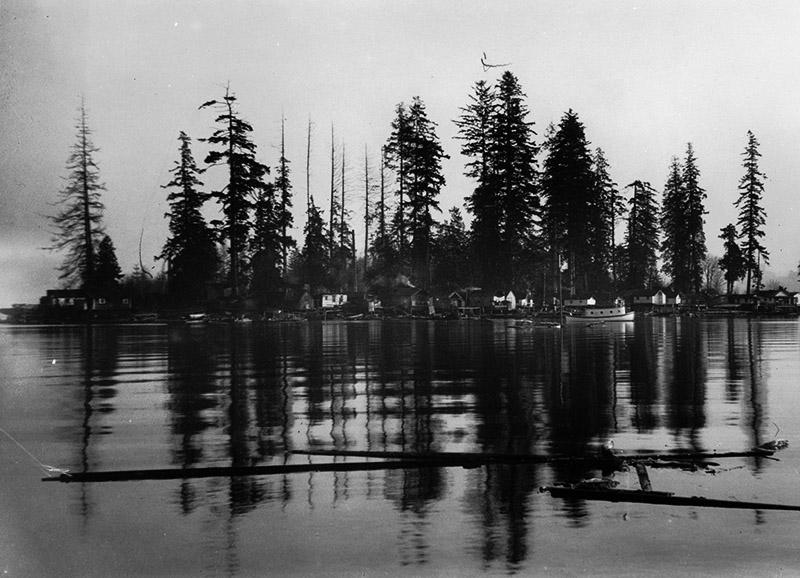 Deadman's Island in 1898. Image via City of Vancouver Archives: AM336-S3-2- CVA 677-136.