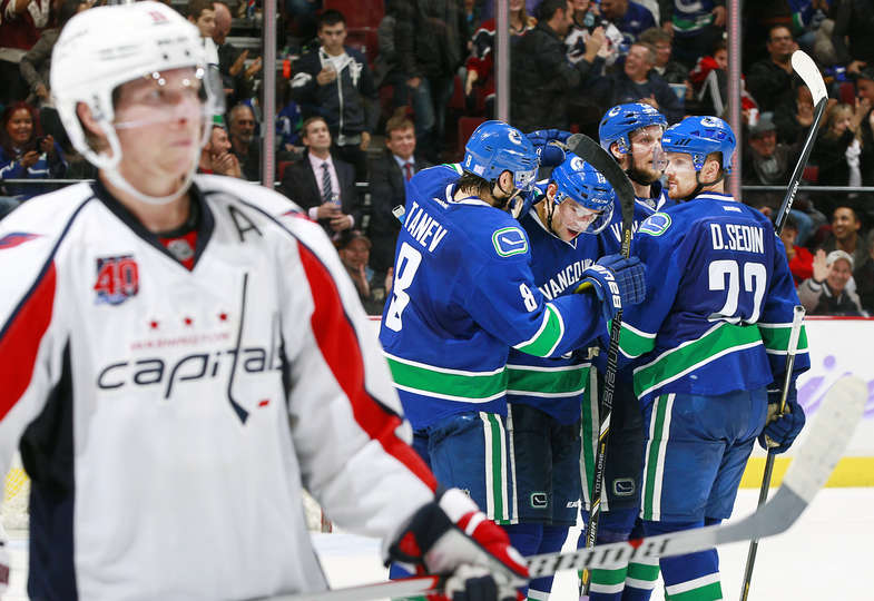 Vrbata scoring a goal - this would be nice to see. Image: Vancouver Canucks