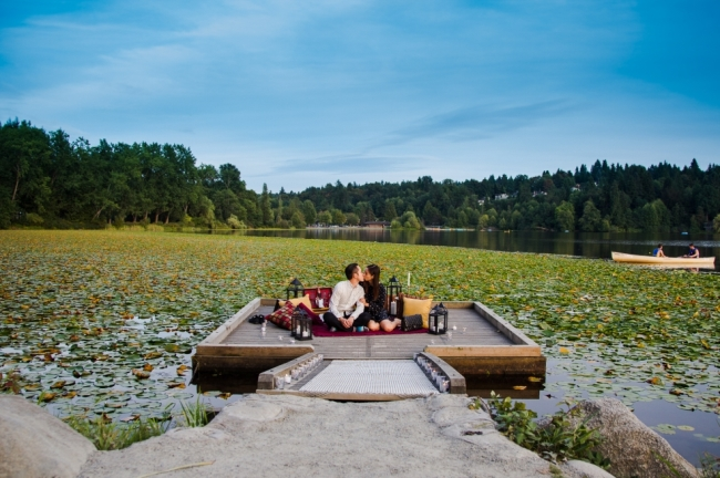 Autumn Dock Proposal  (Amish Solanki at asphoto.ca)