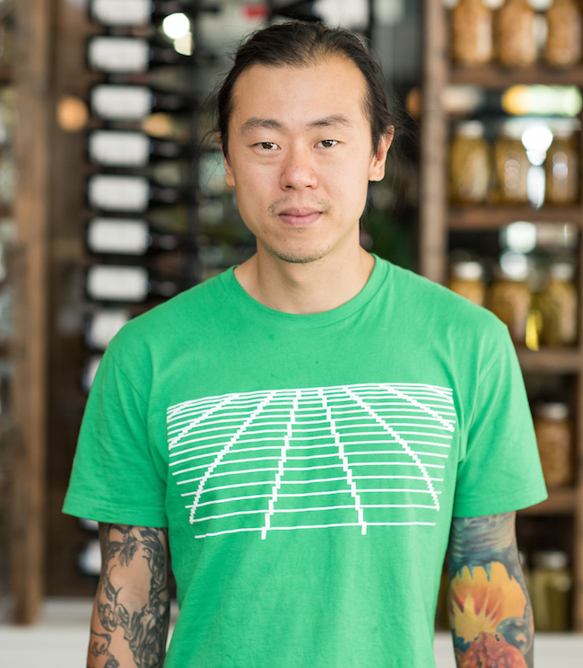Chef Dave Gunawan at Royal Dinette (Photo by Fred Fung/Courtesy Royal Dinette)