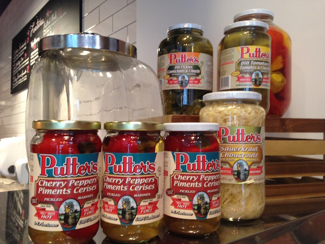 Putters for the pickled stuff now at Dunn's (Lindsay William-Ross/Vancity Buzz)