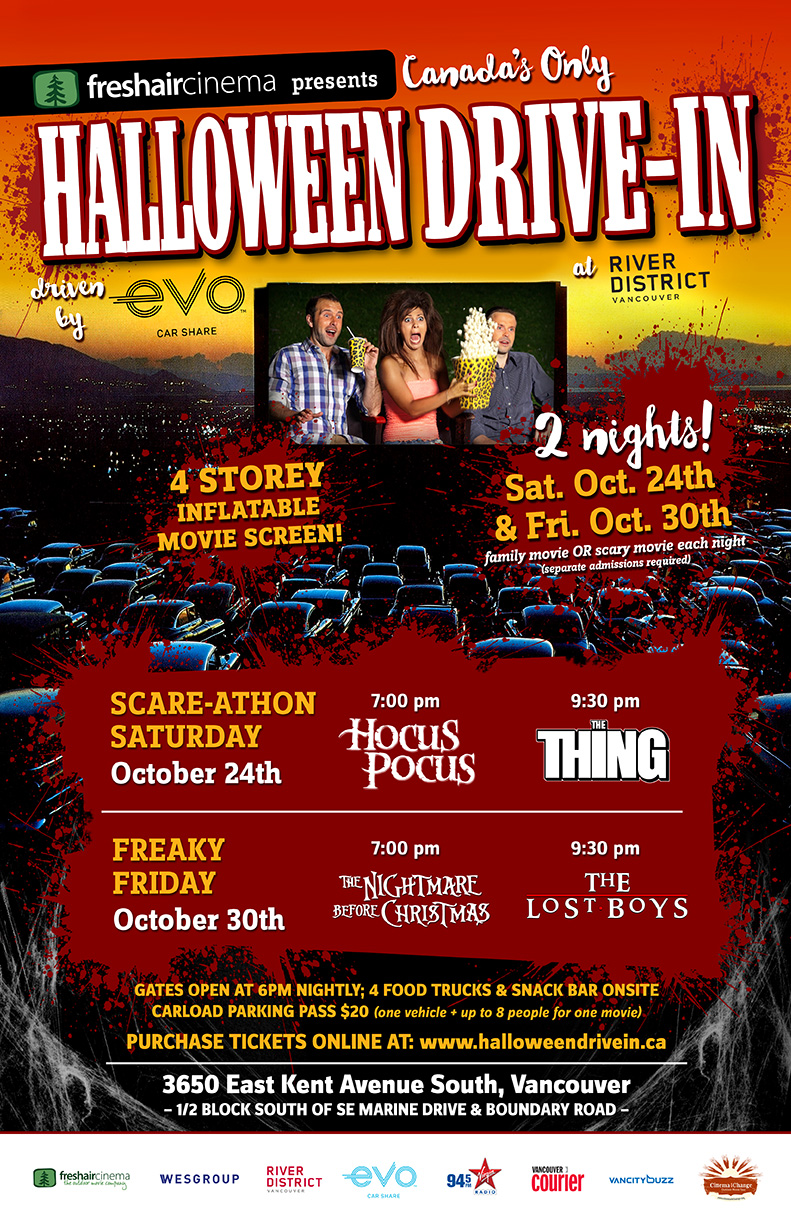 halloween drive-in 2015