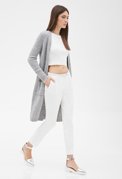 light-heather-grey-forever21-longline-open-front-cardigan-screen