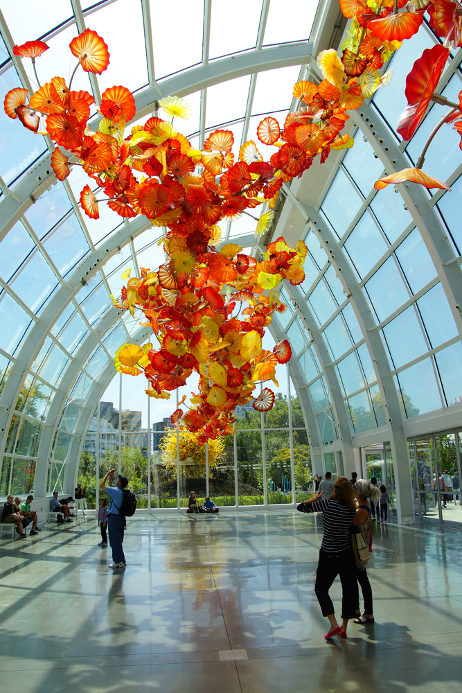 Image: Seattle Chihuly Garden and Glass Museum / Shutterstock