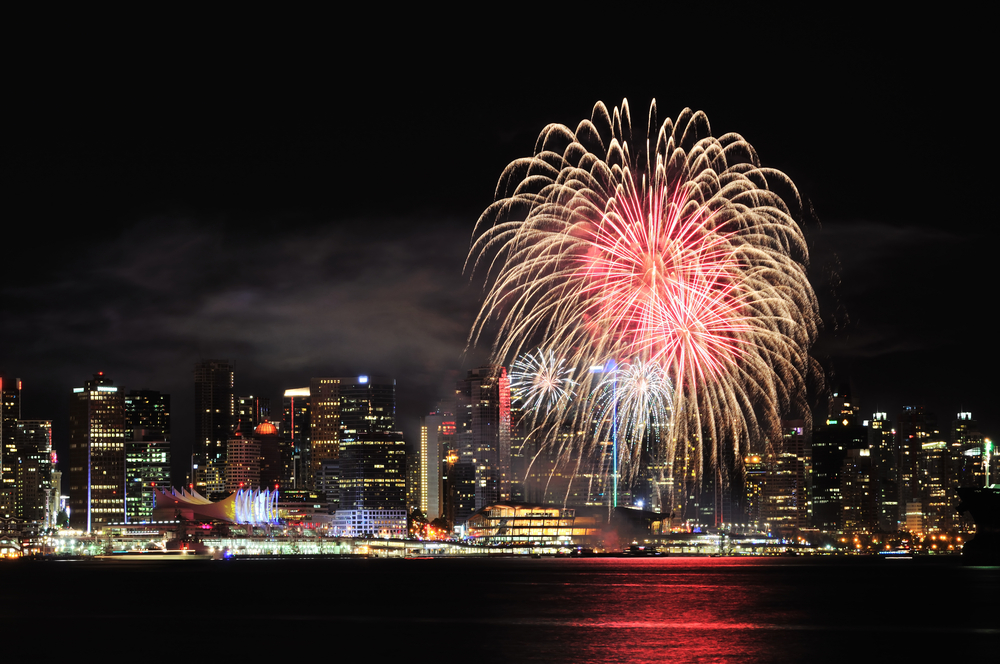 Image: Vancouver Fireworks / Shutterstock