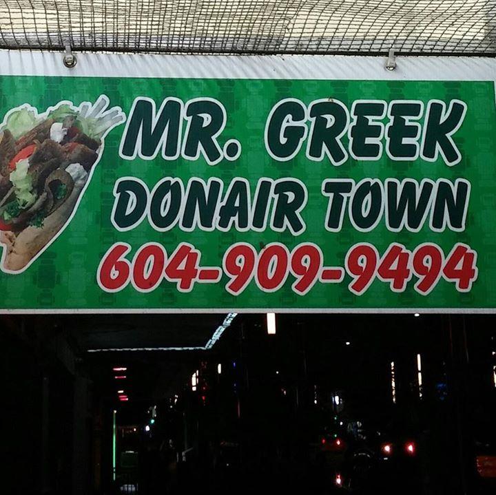 Mr. Greek Donair Town/Facebook