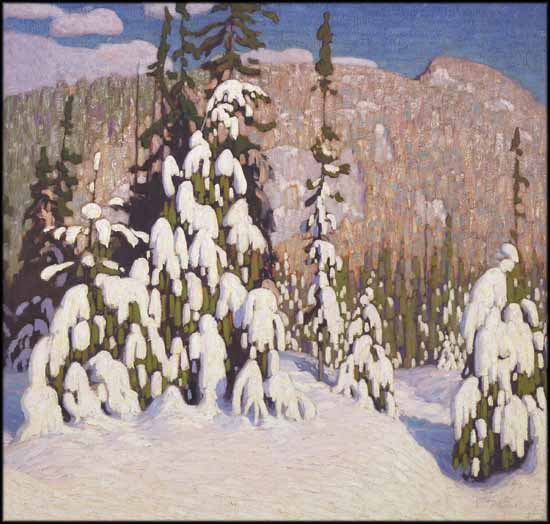 Winter Landscapes by Lawren Harris, Image: Heffel Fine Art Auction House