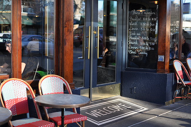 Au Comptoir's exterior (Jess Fleming / Vancity Buzz)