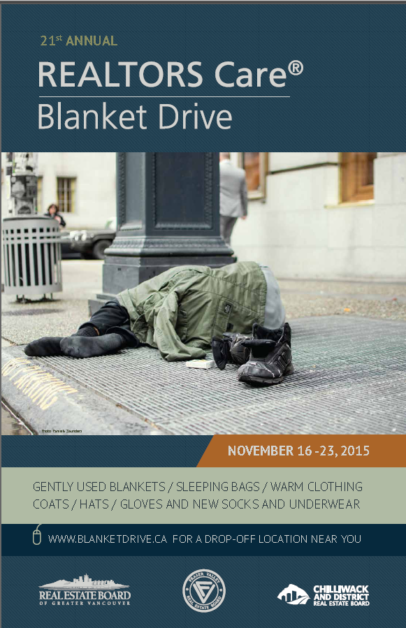 REALTORS Care® Blanket Drive