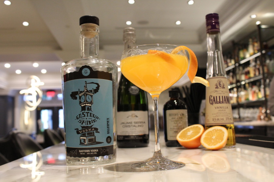 Steam Clockwork Orange Cocktail