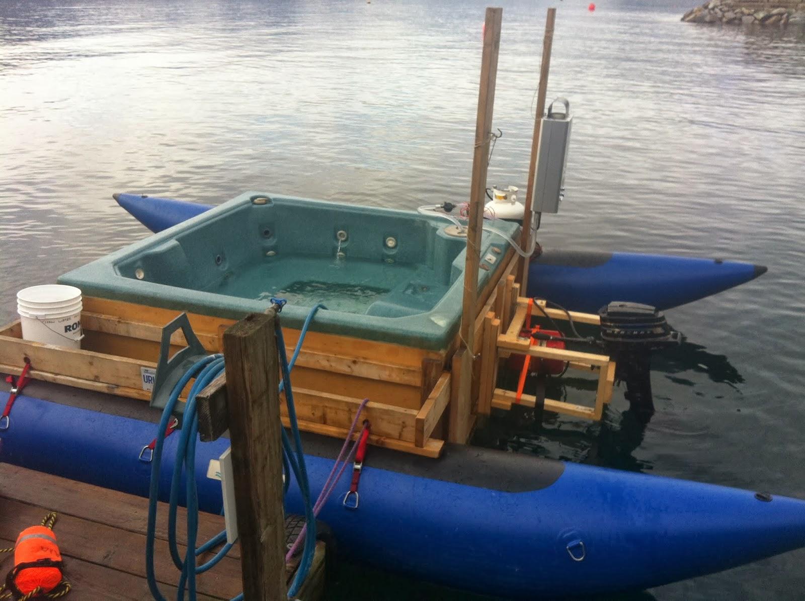 Image: Hottubboat.ca
