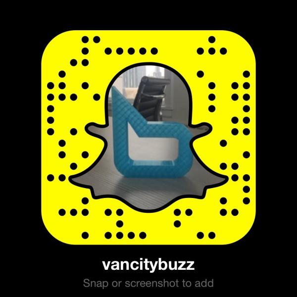 vancity buzz snapchat