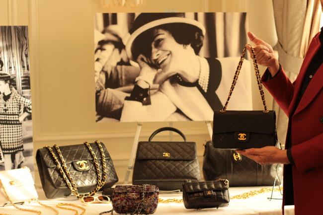 Chanel's 2.55 bag (Nicolle Hodges)