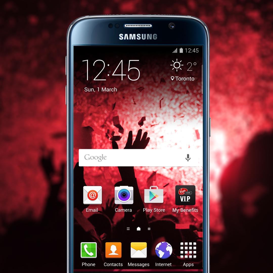 Image: Virgin Mobile My Benefits App