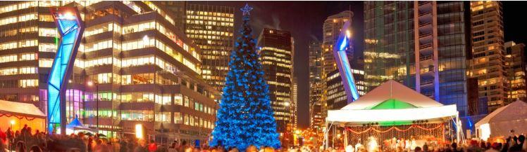 Image: Vancouver Christmas Tree Lighting