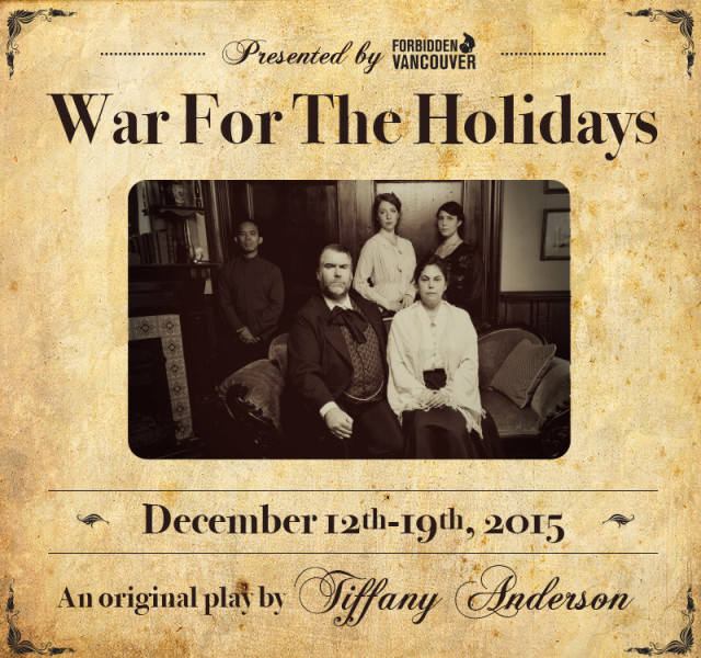 War for the Holidays Poster