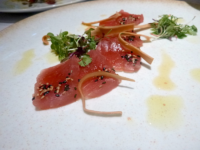 Tuna carpaccio (Lindsay William-Ross/Vancity Buzz)