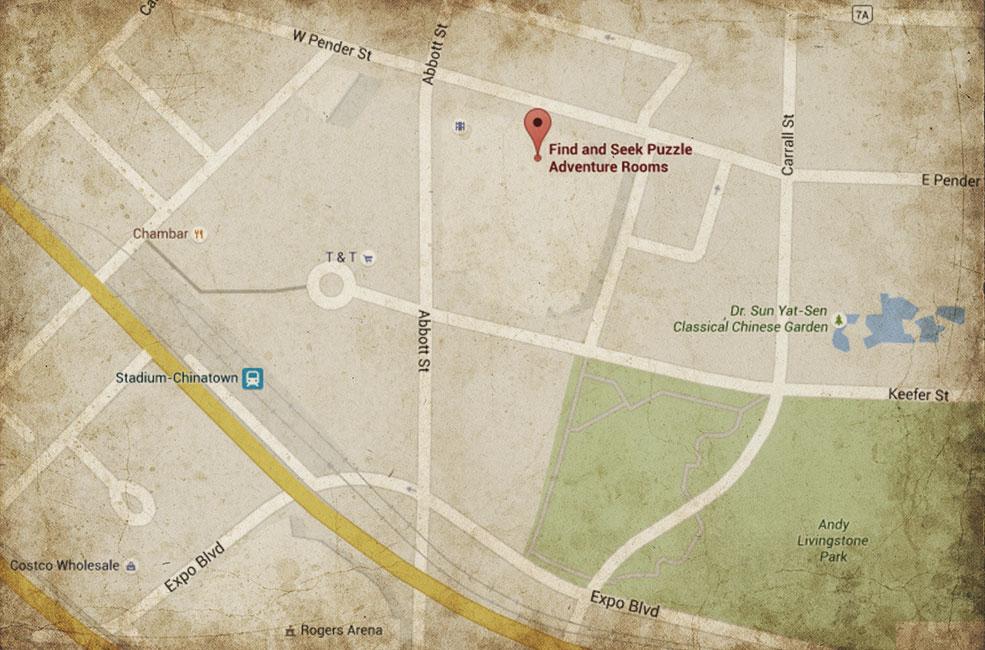 google-map-aged