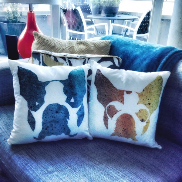 CTV's Ann Luu made these Make pillows of her pups Ramsay and Nitro.