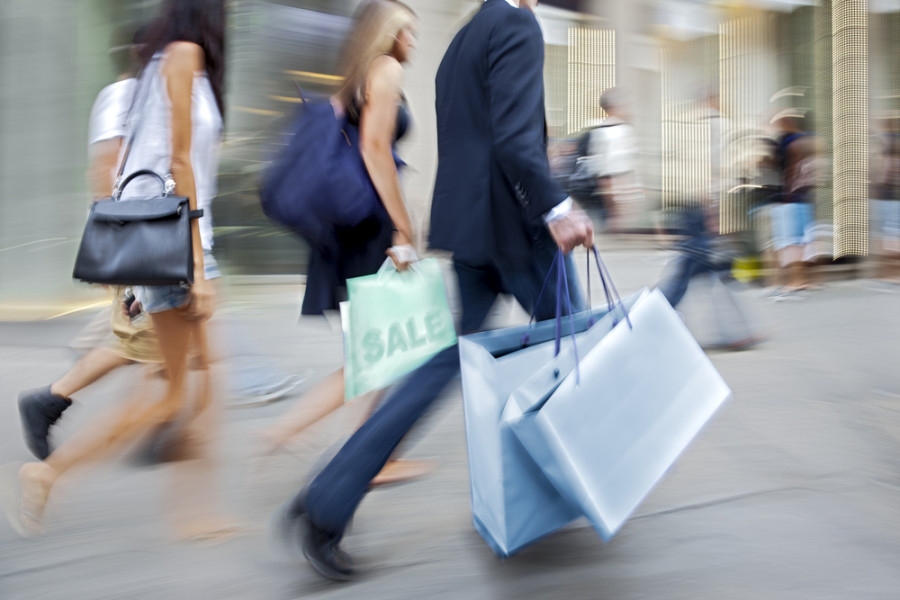 Retail sales via Shutterstock