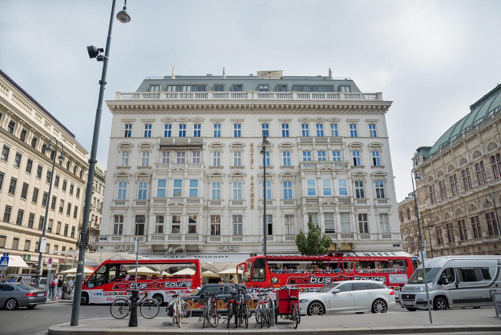 Hotel Sacher/Shutterstock