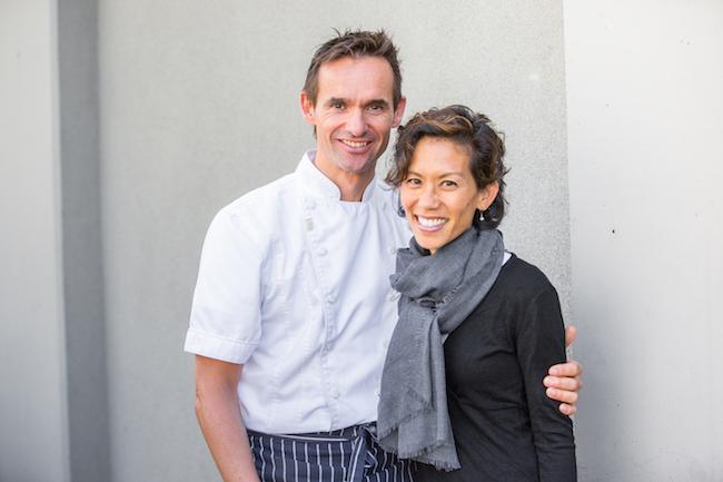 Haas and his wife, Lisa (Photo courtesy Thomas Haas)