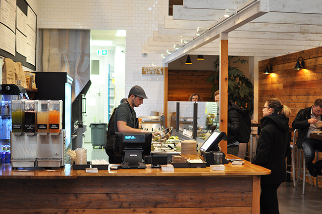 Inside Hungry Guys Kitchen (Jess Fleming / Vancity Buzz)