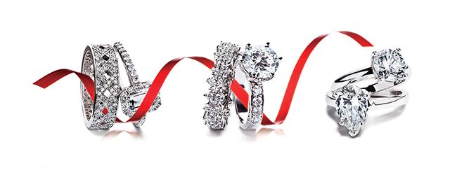 Image: Spence DIamonds/With over 2500 styles to choose from, Spence Diamonds has the largest selection of engagement rings in North America.