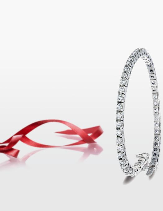 Image: Spence Diamonds/Tennis bracelet from Spence Diamonds