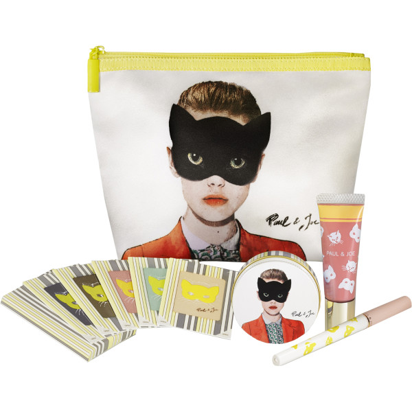Paul & Joe Oh! Carnival Makeup Pouch Set - Group Shot
