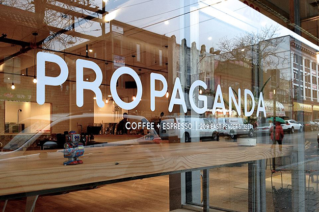 Propaganda Coffee / Facebook