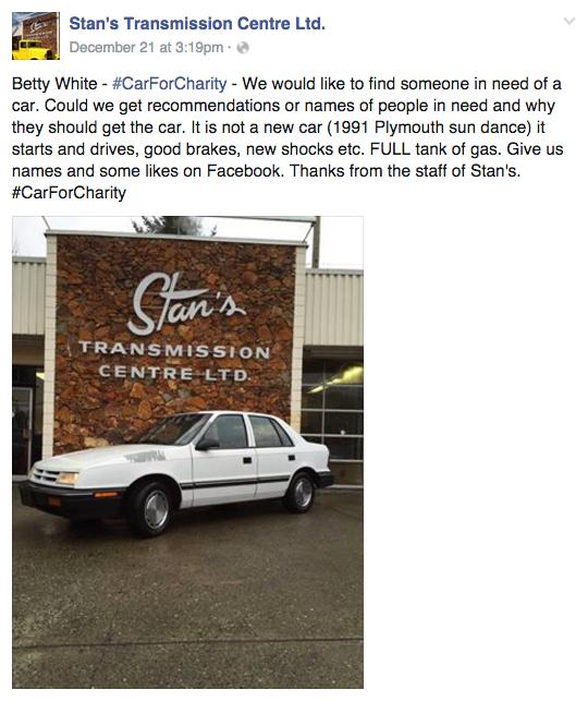 Screenshot / Facebook