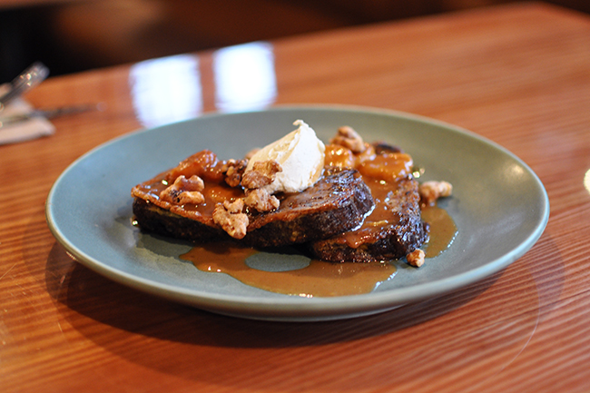Banana Bread French Toast (Jess Fleming / Vancity Buzz)