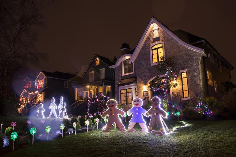 Trinity Street Christmas Lights