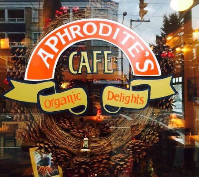 Aphrodite's Organic Cafe & Pie Shop/Facebook