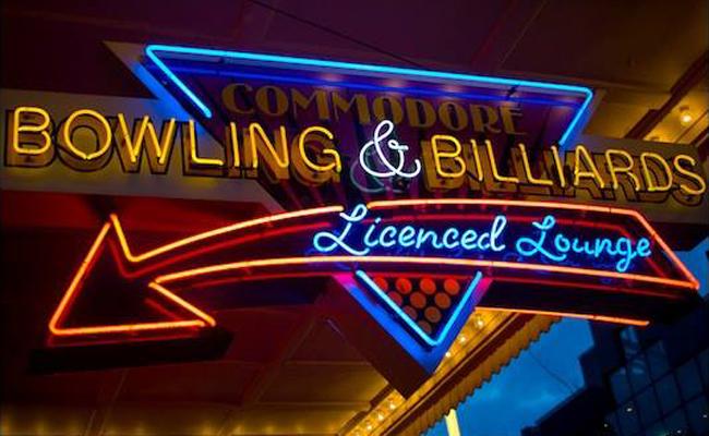Commodore Lanes & Billiards Facebook