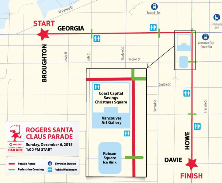Rogers Santa Claus Parade