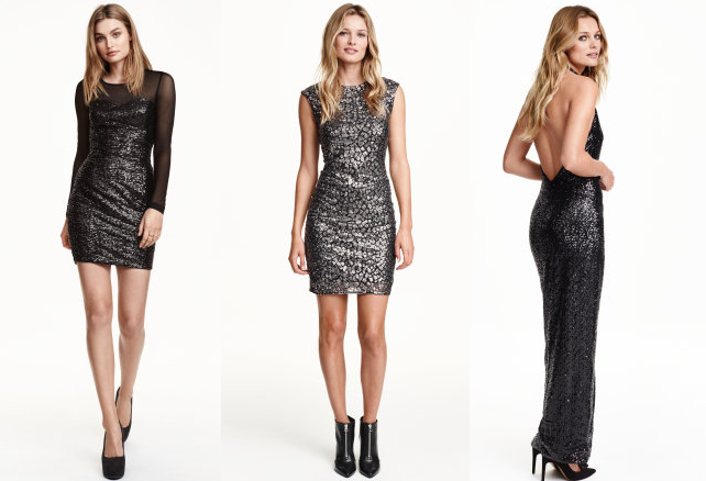 Sequined Dresses from H&M