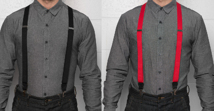 Trendy supsenders from JJ Suspenders