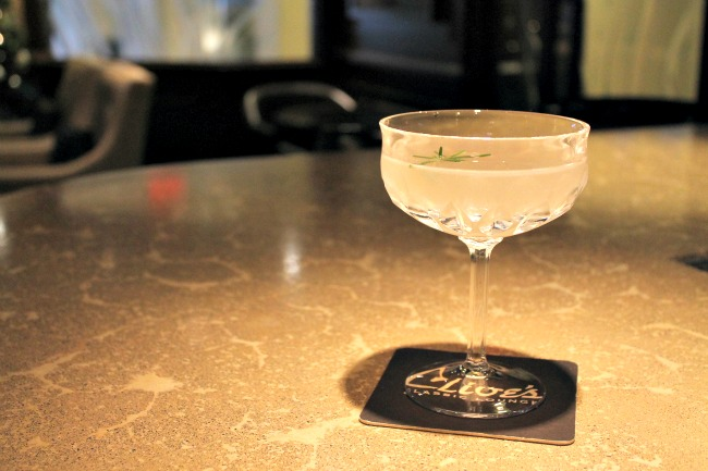 """""""West Coast Gimlet"""" at Clive's Classic Lounge. Photo by Rebecca Coleman"""