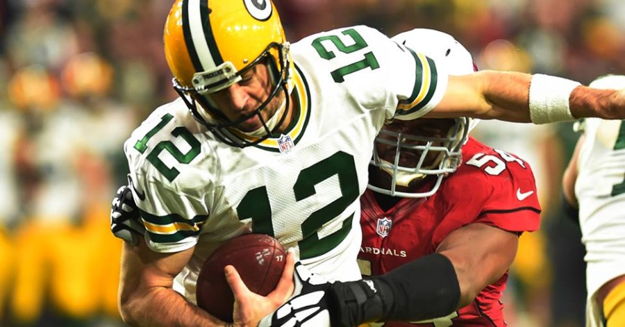 Aaron Rodgers vs Cardinals