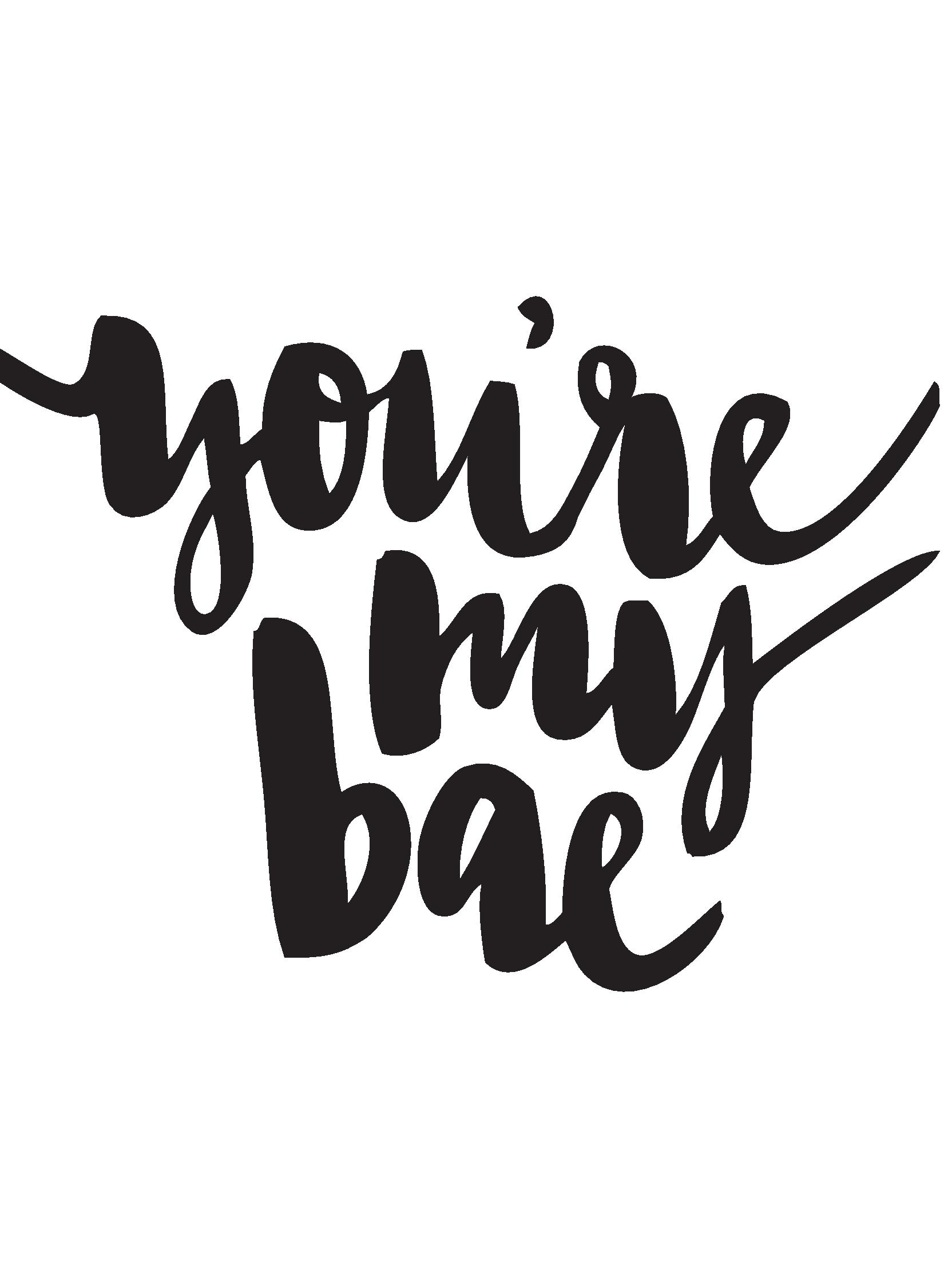 Image: You're my Bae by JustGreet