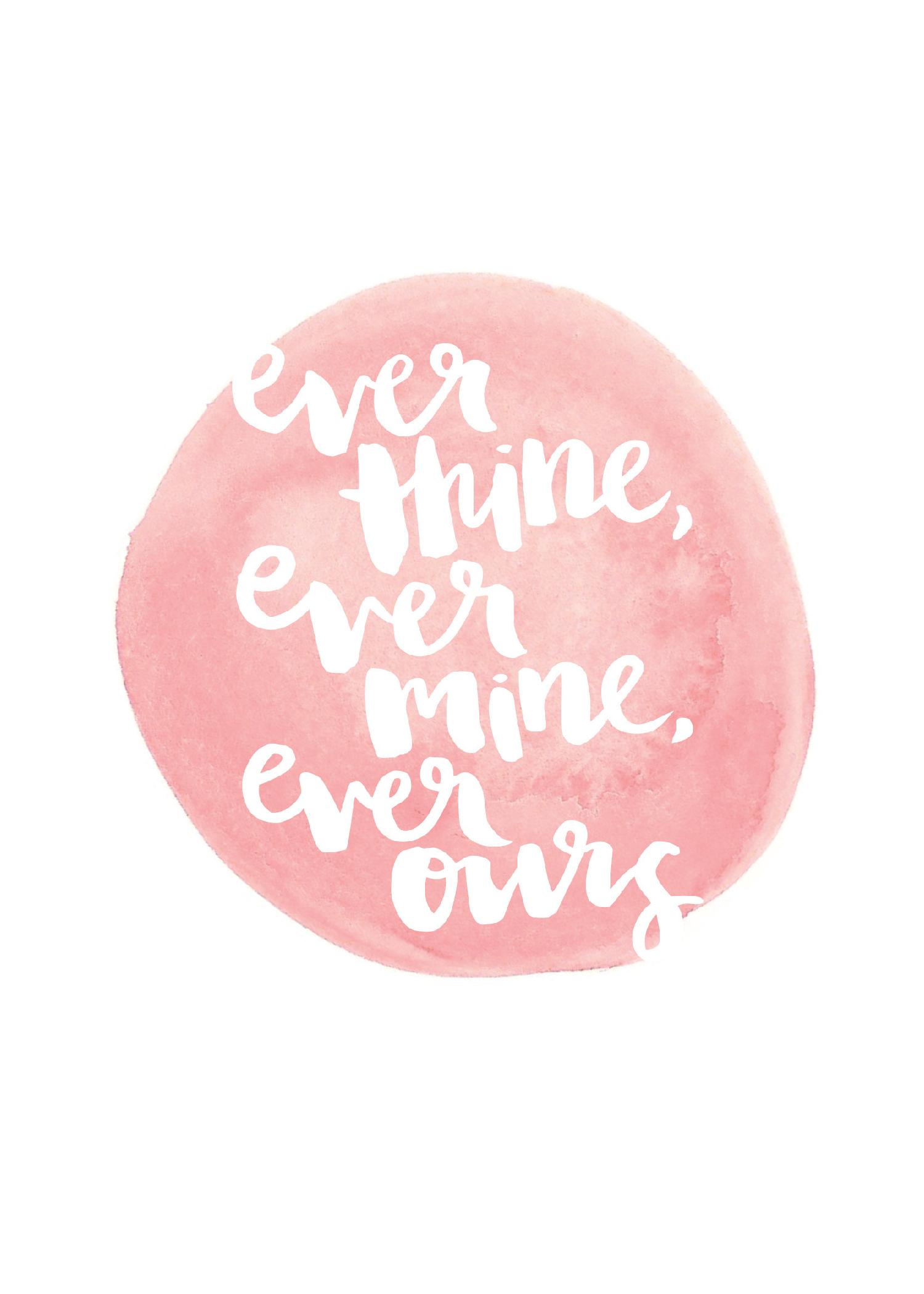Image: Ever thine, ever mine, ever ours by JustGreet