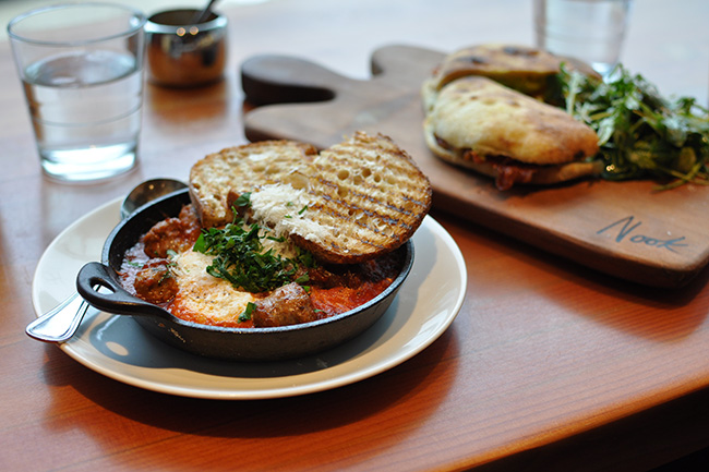 Weekend brunch at Nook Kitsilano (Jess Fleming / Vancity Buzz)