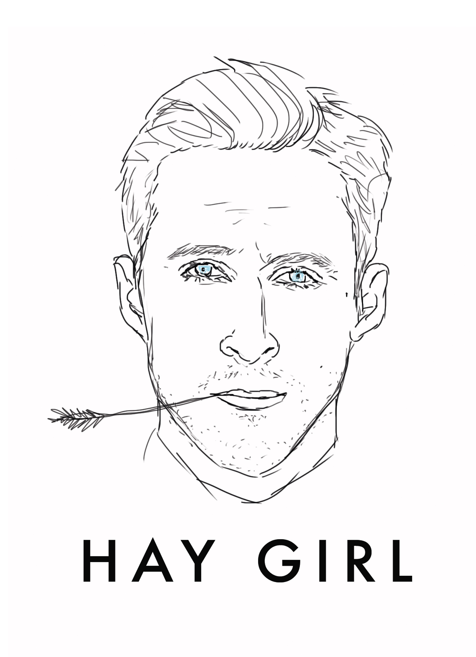 Image: Ryan Gosling by JustGreet