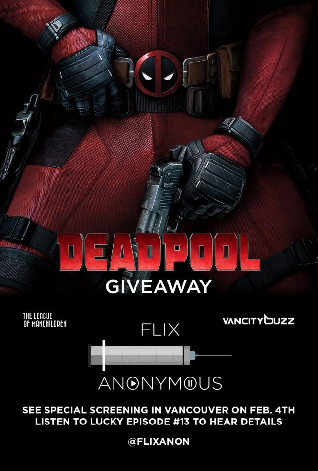 Deadpool giveaway