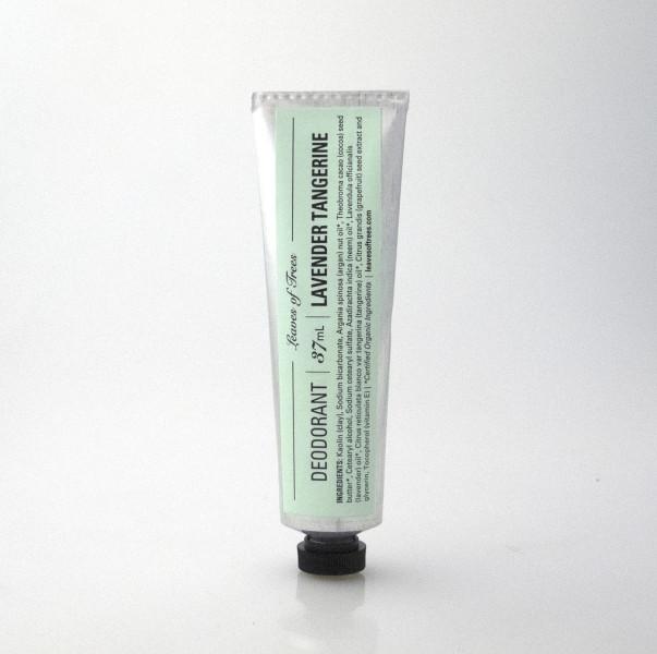 Lavender and Tangerine deodorant, $15