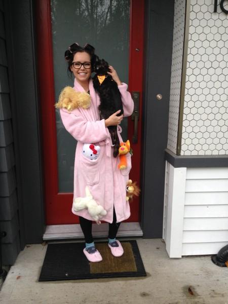 Halloween 2015 Crazy Cat Lady
