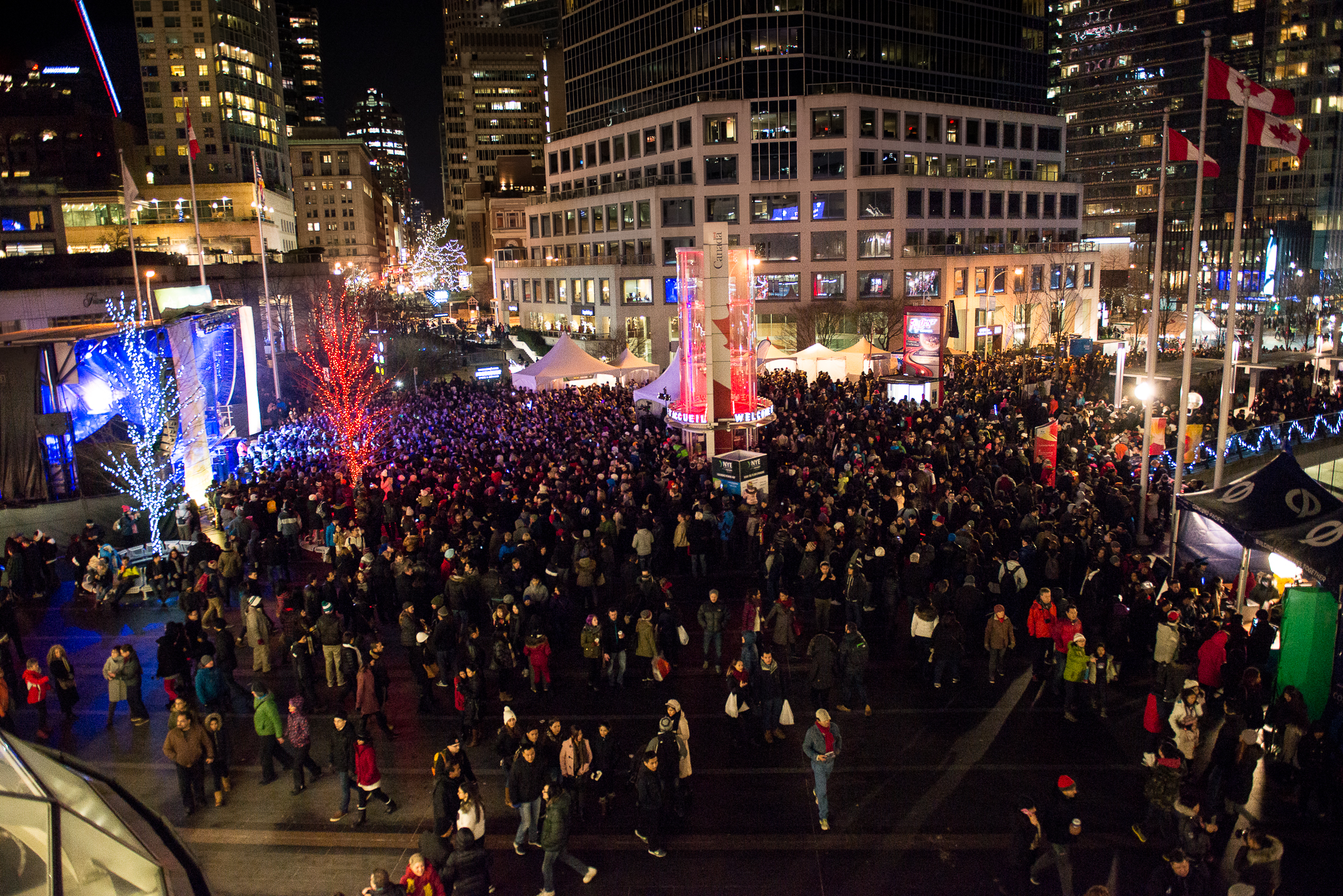 Image: Brandon Klemets / New Year's Eve Vancouver
